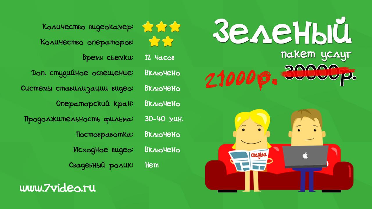 Зеленый пакет, Видеостудия 7video.ru