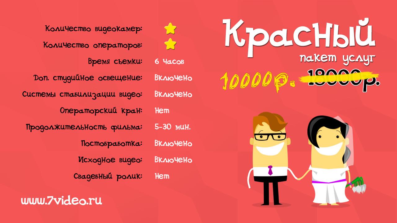 красный пакет, Видеостудия 7video.ru