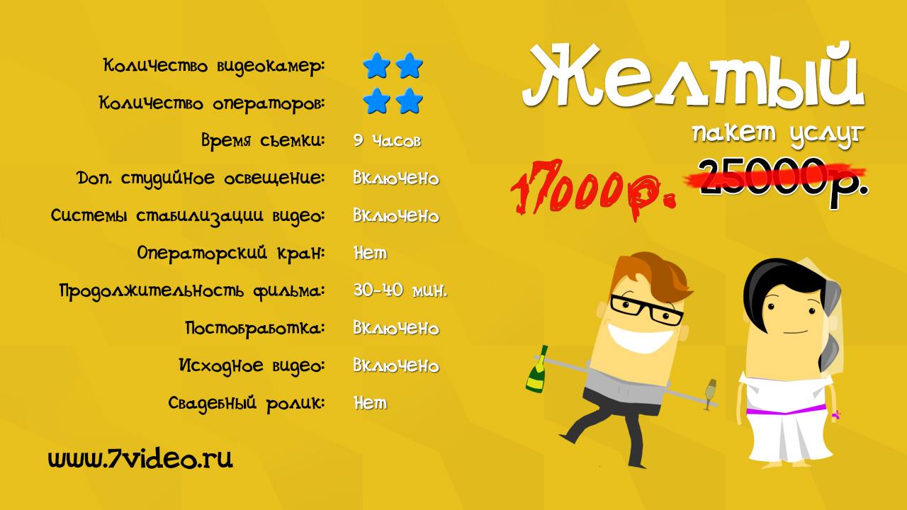 Желтый пакет, Видеостудия 7video.ru